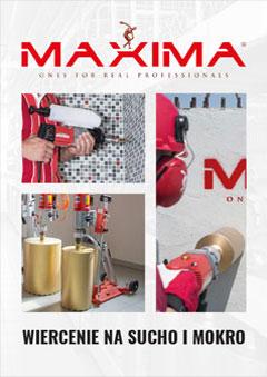 Katalog MAXIMA - Wiercenie na sucho i mokro