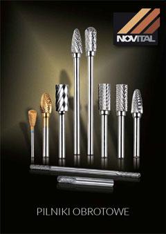 Katalog pilników obrotowych NOVITAL